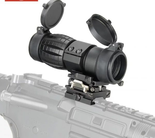 Airsoft magnifier scope